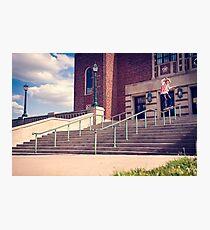 Dan Lutheran - 50-50 - Kansas City - Photo Aaron Smith Photographic Print