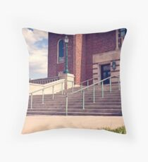 Dan Lutheran - 50-50 - Kansas City - Photo Aaron Smith Throw Pillow