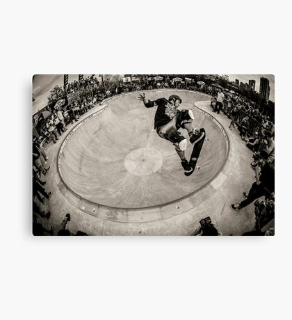Christian Hosoi - Air - New York - Photo Aaron Smith Canvas Print