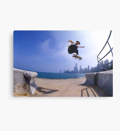 Patrick Melcher-Chicago photo by Andrew Hutchison Metal Print