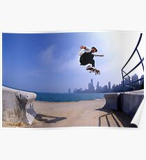 Patrick Melcher-Chicago photo by Andrew Hutchison Poster