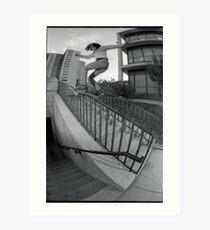Steve Fauser-Chicago Photo Andrew Hutchison Art Print