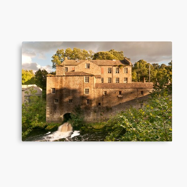 Aysgarth Mill Canvas Print