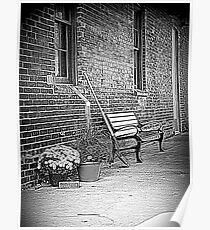 Brickworks Walkway Poster