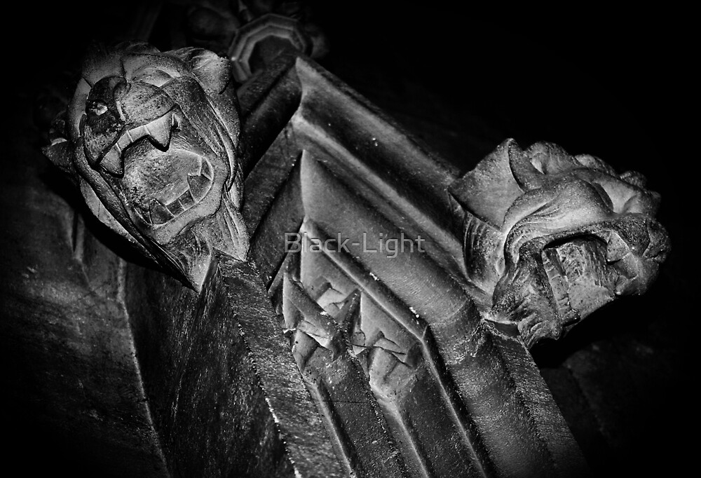 Bristol Cathedral by Black-Light