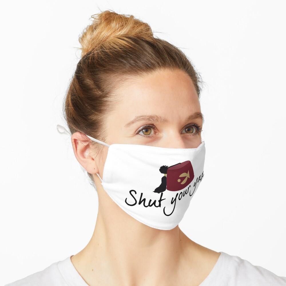 Shut your yap Mask