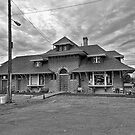 Brigham City Train Depot by Brenton Cooper