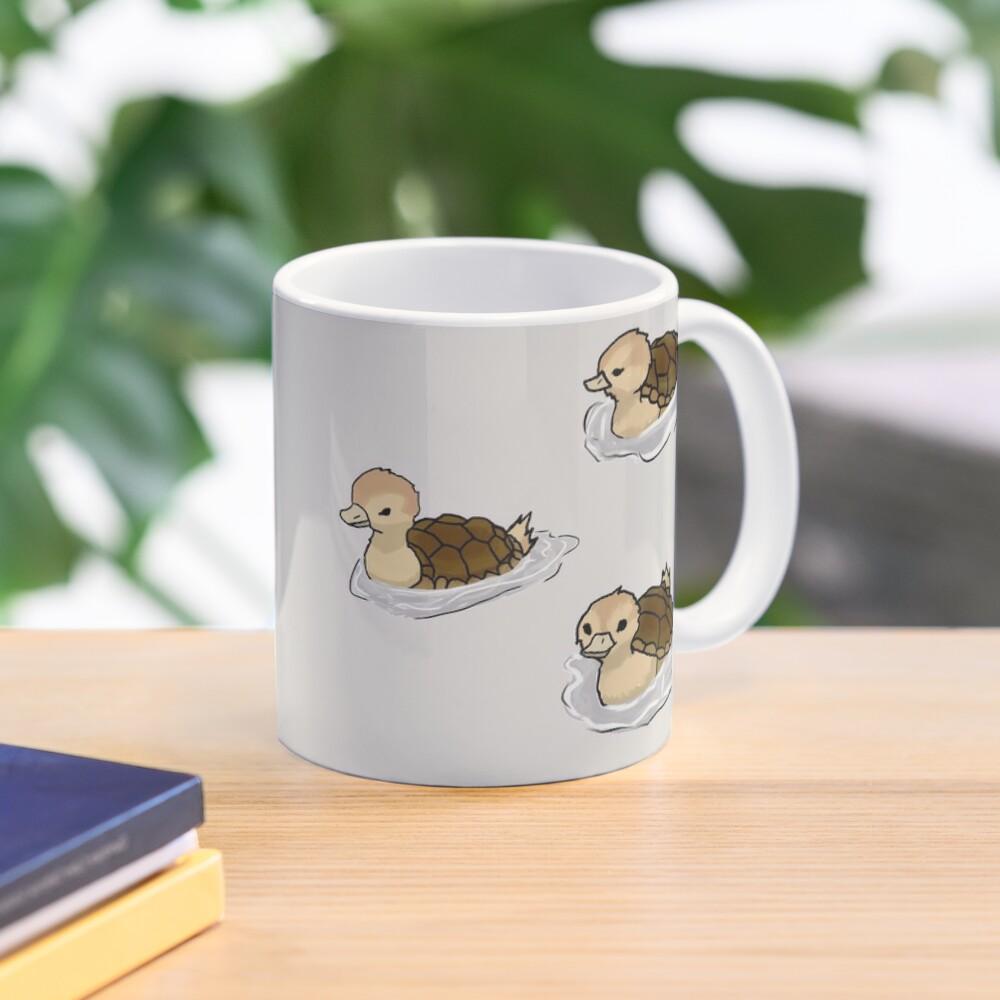 Turtle Ducks Mug