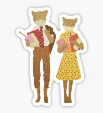 Fantastic Mr Fox  Sticker