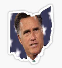 Ohio is for Romney, Sticker