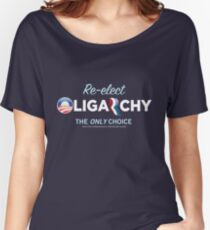 Reelct Oligarchy 2012 Women's Relaxed Fit T-Shirt