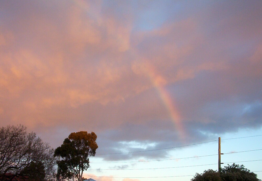 Rainbow At Dawn 12 - 23 10 12 by Robert Phillips