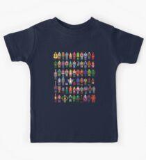 Camiseta para niños Maestros de 8 bits