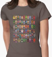 8-bit Masters Women's Fitted T-Shirt