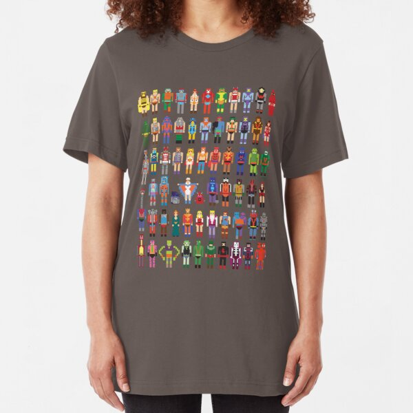 8-bit Masters Slim Fit T-Shirt