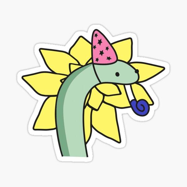 Funny Snake - Comics - Snek funny Yellow Sticker