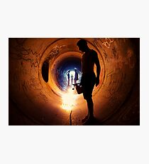 Burning Tunnel by Sam Muller Photographic Print
