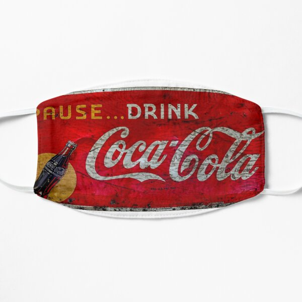 Pause Drink Coca-cola Sign  Mask