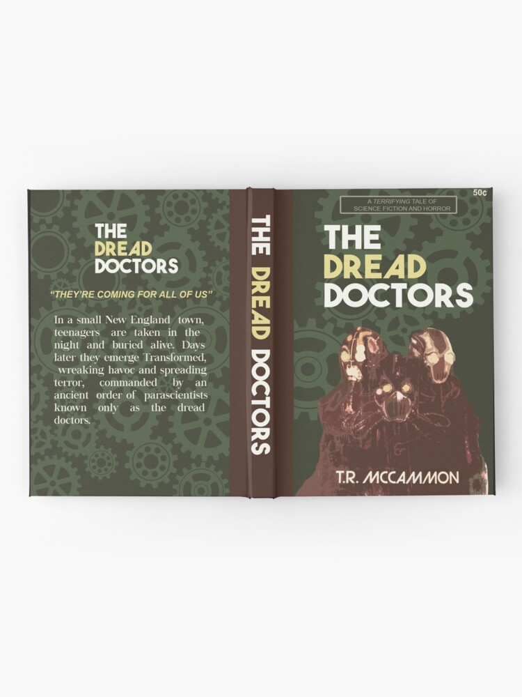 Alternate view of The Dread Doctors Hardcover Journal