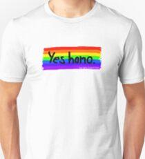Yes homo. Slim Fit T-Shirt