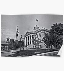 Box Elder County Courthouse Poster