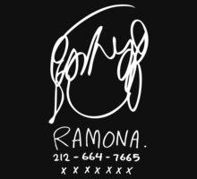 Ramona Flowers (on Black) | Unisex T-Shirt