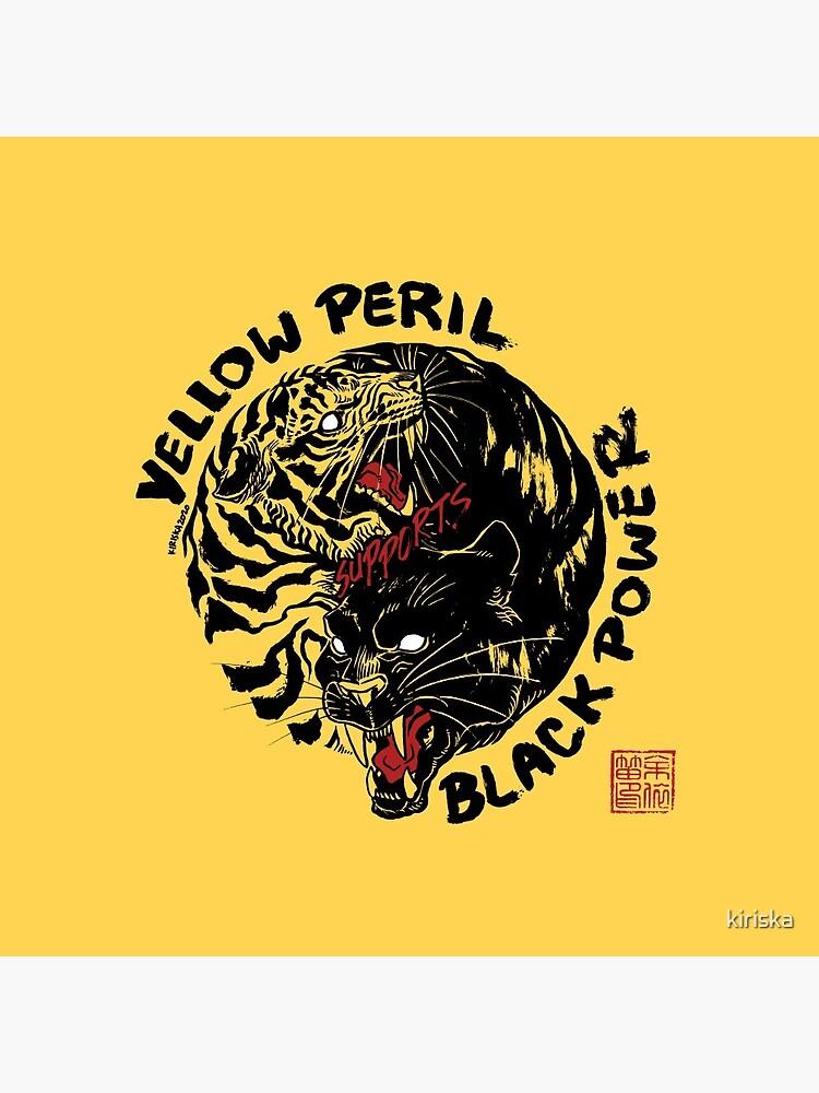 Yellow Peril Supports Black Power by kiriska