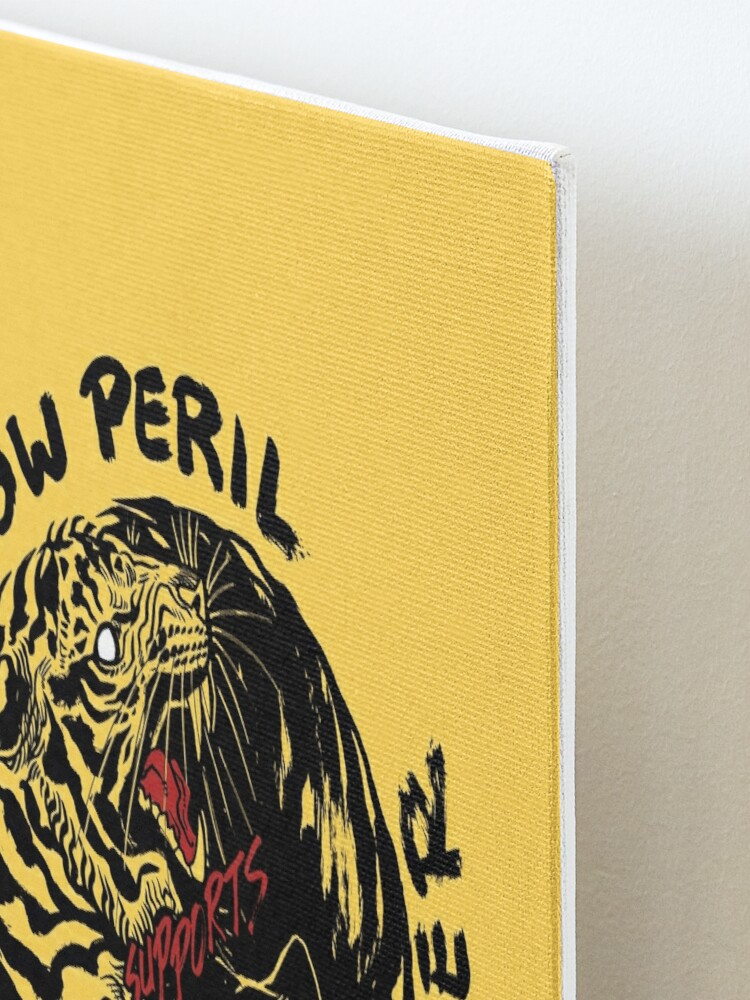 Alternate view of Yellow Peril Supports Black Power Mounted Print