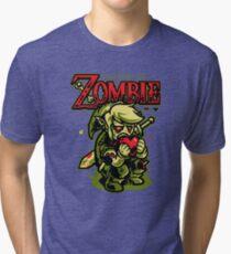 Legend of Zombie Tri-blend T-Shirt