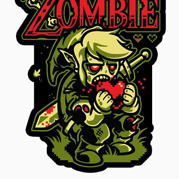Legend of Zombie - STICKER by WinterArtwork