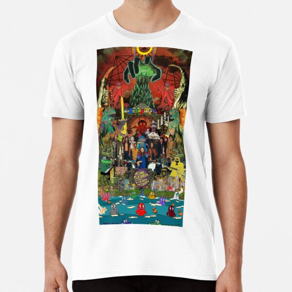 King Gizzard and the Lizard Wizard Collage - all proceeds to charity - King Gizzard's Altered Beasts Club Band Premium T-Shirt