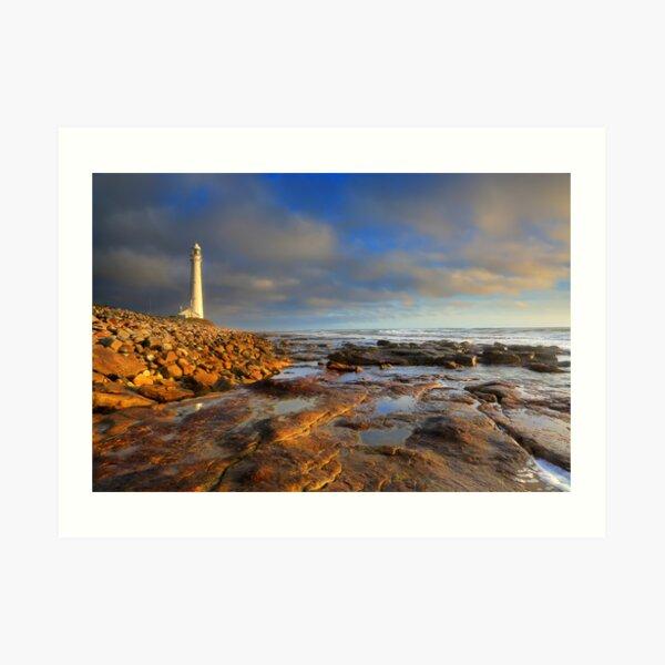 Slangkop Lighthouse, Kommetjie Art Print