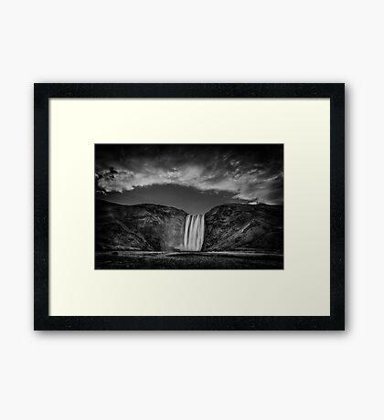 Cool Sensation Framed Print