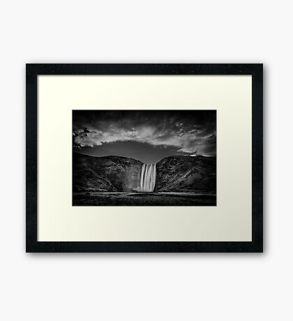 Cool Sensation Framed Print