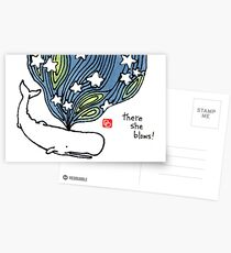Moby Dick 2 Postcards