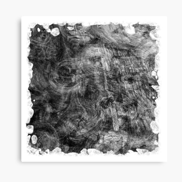 The Atlas of Dreams - Plate 26 (b&w) Canvas Print