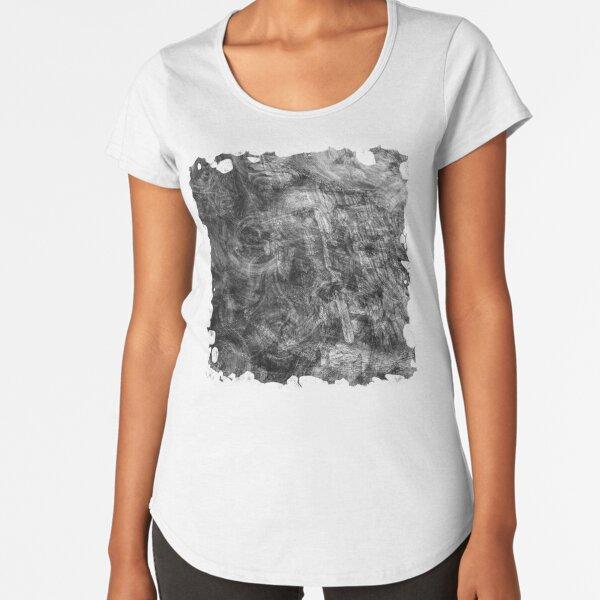 The Atlas of Dreams - Plate 26 (b&w) Premium Scoop T-Shirt