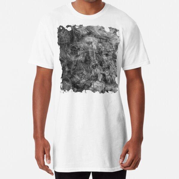 The Atlas of Dreams - Plate 26 (b&w) Long T-Shirt