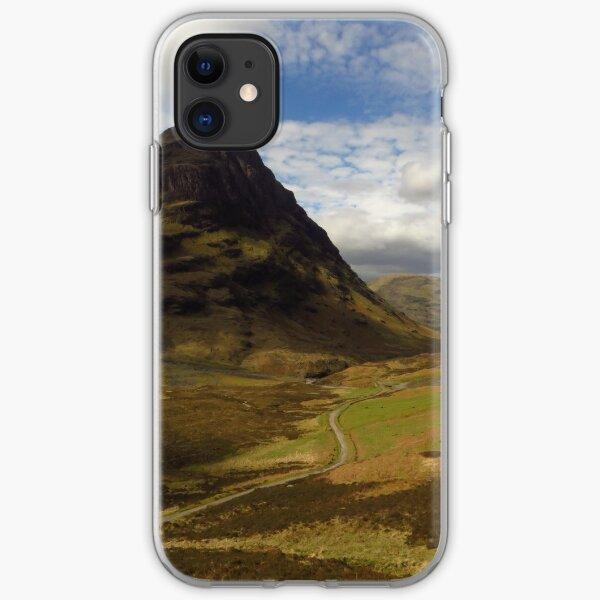 Glen Coe, Scottish Highlands iPhone Soft Case