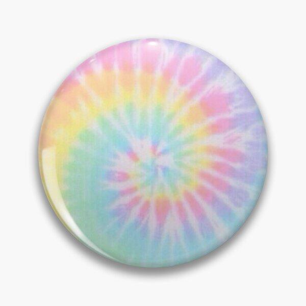 Rainbow tie dye Pin
