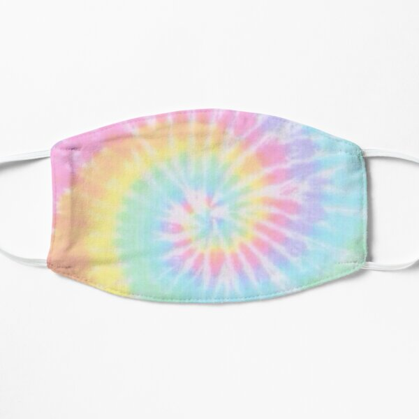 Rainbow tie dye Small Mask