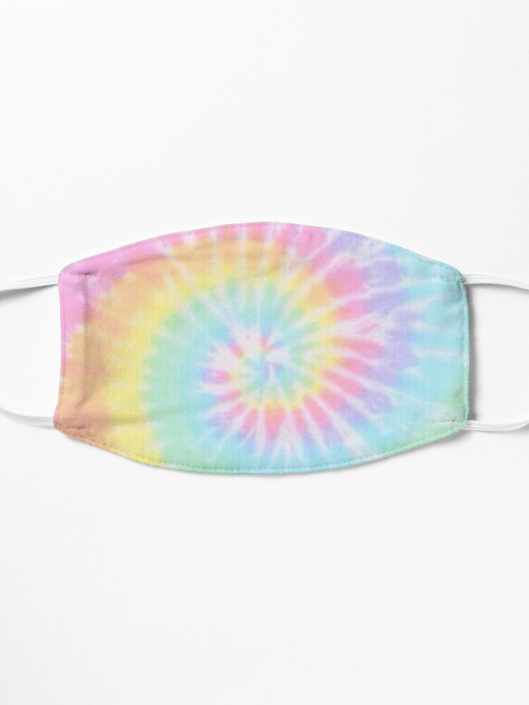 Alternate view of Rainbow tie dye Mask
