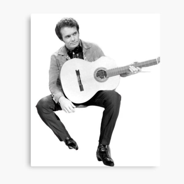 Country Musician Merle Haggard Metal Print