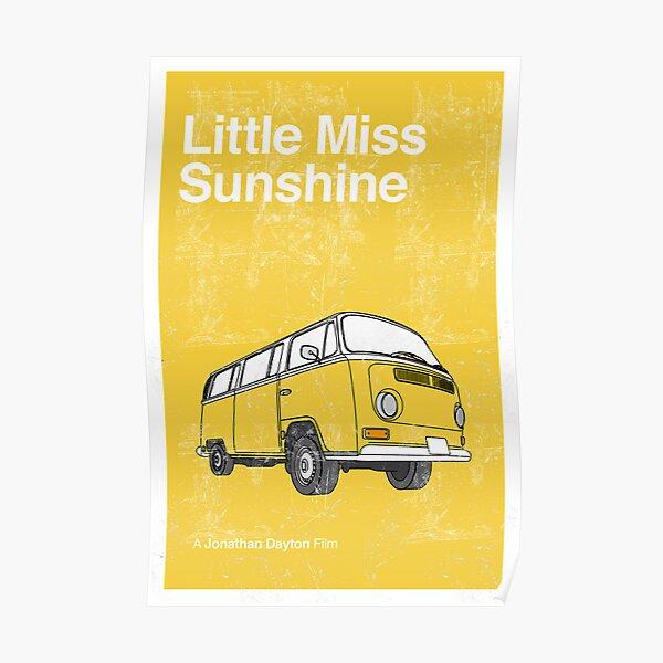 Imprimé minimaliste Little Miss Sunshine Poster