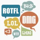 Texting Shortcuts by DetourShirts