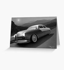 Moonlight Cruiser Greeting Card