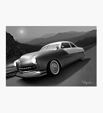 Moonlight Cruiser Photographic Print