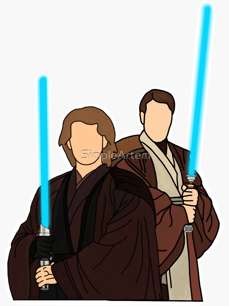 Anakin and Obi Wan by SimpleArtem