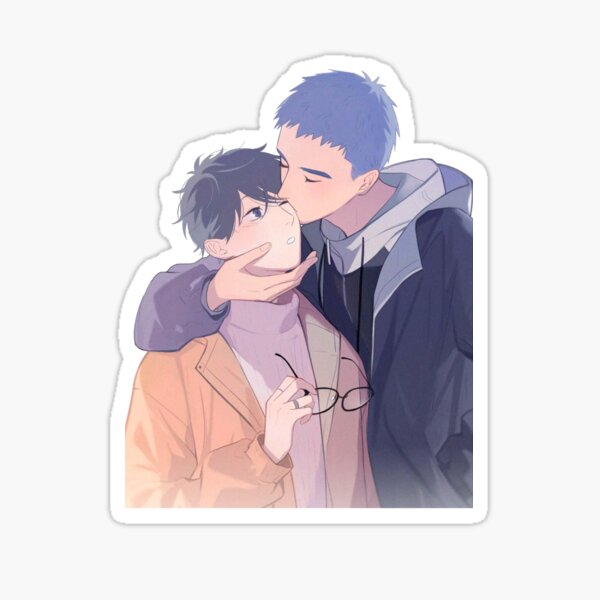 Li Huan et Yu Yang Sticker
