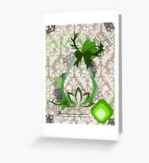 Nature's peace, pear infused  Greeting Card